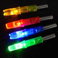 archery lights - Archery LED Lighted Arrow Nocks For compound bow Hunting Arrow Tail mm Colors