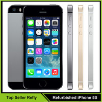 Wholesale Original Refurbished Apple iPhone S Unlocked Mobile Phone iOS Dual Core A7 MP Smart Phone Also Have Refurbished iPhone Samsung Galaxy S6