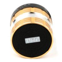 Wholesale Ubit Aluminum Bluetooth Handsfree Speaker With Microphone For iPhone Samsung FM Radio Mini Wileress Bluetooth MP3 Speakers D95