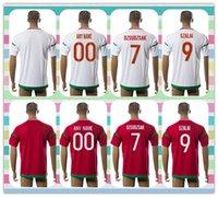 Nuevo producto de Tailandia 2016 Copa de Europa Hungría Hombres camisetas de fútbol de los hombres con el nº 7 Dzsudzsak 9 SZALAI Rojo Blanco Inicio camisa ausente de Jersey de fútbol completa