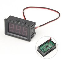 Wholesale Mini DC V V Voltmeter High Quality inch LED Digital Voltmeter suitable for different occasions