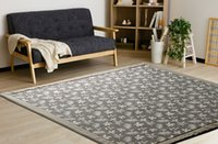 bedroom futons - Japanese Floor Mattress Large Size Square x185cm Kotatsu Futon Mat Portable Tatami Pad Fashion Flower Bedroom Rug Designer