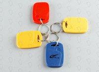 BRAND Quality Assurance Keyfobs de identificación RFID Tag 125KHZ Proximidad Token clave Ring Card NO.1 Tarjeta de asistencia de control de acceso 100 PCS C25