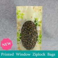 Wholesale Tricolor flower ziplock flower food dried fruit packaging plastic bags sealed bags cosmetic L M S