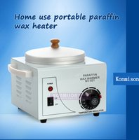 beauty wax pots - 110V V Single Wax pot Heater wax paraffine machine for Beauty Salon Mini SPA Hands Feet Paraffin Bath