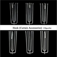 Wholesale 2016 High quality Window curtain hook Curtains Poles Tracks Accessories and retail