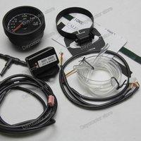 Wholesale Racing Greddy Turbo Gauge Turbo Boost Gauge Light Colors LCD Display With Voltage Meter Car Gauge mm Inch