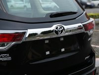 Wholesale High quality Rear Door Trunk Lid ABS Chrome decoration Cover TRIM for Toyota Highlander accessories