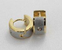 basketball hoops cheap - fashion gold hoop earrings stainless steel basketball wives rhinestone jewelry Hoop Earrings Cheap Hoop Earrings