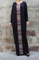 aztec dress - Black Caftan Maxi Dress Plus Size Dress Kaftan Abaya Oversized Dress Aztec