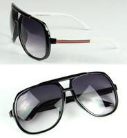 big beach sunglasses - New Fashion Brand Designer Men Women Sunglasses Big Frame Sun Glasses Eyewear Oculos De Sol