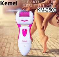Wholesale Rechargeable Electric Foot Pedicure Machine Professional Feet Care Tools Replacement Heads Dead Skin Callous Remover km