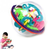 Wholesale Newest Design D Maze Ball Intellect Ball Children s Educational Toys Baby Puzzle Toy random color