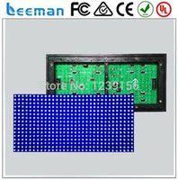 Wholesale Leeman P10 R Outdoor red green blue yellow white color P10 red led module green led screen module sign dot matrix