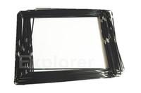 Wholesale Original New Plastic Mid Frame middle bezel with adhesive Black White For Apple iPad frame Bezel