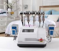 Wholesale Hot selling Ultrasonic Liposuction Cavitation vacuum bipolar multipolar Radio Frequency RF pads Diode Lipo Laser Weight Loss Machine