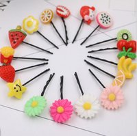 Wholesale Good Gift Kids Girl Candy Hairpin Hair Accessories Baby hairpin Clip Styling Tools Gum For Hair