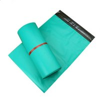 Wholesale 17 cm Poly Self seal Self Adhesive Green Express Shipping Bags Courier Mailing Plastic Bag Envelope Mail bags