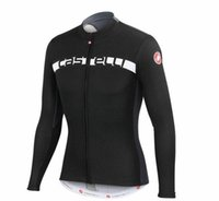best women s clothing brands - Men Caste Top Brand Long Sleeve Cycling Jerseys Winter Thermal Fleece Warmer Bicycle Clothing Black White Blue Best Quality Bicycle Shirts