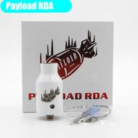 Nuevo Payload mods RDA atomizadores clon Ecig Dripping Atomizer 22mm vaporizador de centro de cobre 510 atomizadores de rosca caben Vape MOD DHL Free