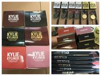 Wholesale Kylie kyliner kit Make up brithday edition kylie kyliner eyeliner and gel liner colors black brwon bronze Chameleon colors