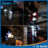Wholesale Outdoor Fishing Magic Strap Fingerless Glove LED Flashlight Torch Cover Camping Hiking Lights Multipurpose