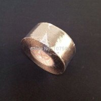 Cheap 50mm 5m Exhaust Heat Wrap Protection Manifold Shield - Titanium Tape tape back titanium straightener