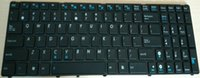 asus us notebook - High quality With frame US keyboard For ASUS G60 G51 G53 K53S G72J G72JH G73JL Notebook keyboard