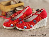 amoi shoes - 2016 Amoi authentic old Beijing shoes shoes wedges in casual shoes dancing shoes documentary dance shoes