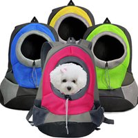 Wholesale High Quality Colorful Pet Front Carrier Dog Cat Puppy Travel Bag Mesh Backpack Head out Carrier Bag DB