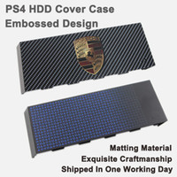 accessories hdd case - Embossed PS4 Sticker HDD Skin Accessories Hard Disc Drive Cover Housing Case Matting faceplate for Playstation PS4 ABXY