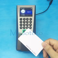 Wholesale ZKteco Biometric Fingerprint Access Control with Build in khz rfId Card Door Access Control System F18 ID