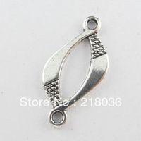 bali silver pendants - Fashion Bali Style Tibetan Silver Tone Oval Charms Pendants Connectors Beads DIY Jewelry x26mm B868