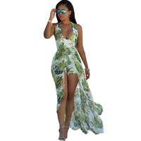achat en gros de prom robe vintage xl-2016 Robe d'été pour les femmes de style bohème Maxi Robes de soirée de bal Soirée Robes de soirée en mousseline de soie Vintage