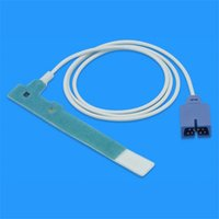 Wholesale Disposable SpO2 Probes Nellcor Oximax SpO2 Sensor of Adult Neonate Wrap Foot Connector DB9Pin Cable Length M ft CMD0198A