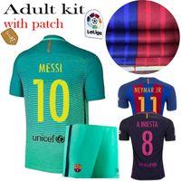 away barcelona jersey - AAA jerseys and shorts Barcelona kits jersey away soccer men shirts MESSI NEYMAR SUAREZ ET