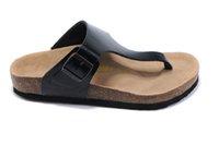 best flip flop sandals - Best Comfortable Unisex Summers Slippers Summer New Birkenstock Flip Flops good quality Soft Footbed Sandals