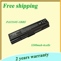 toshiba laptop - Hot sale black cell Battery for Toshiba PA3534U PA3534U BAS PA3534U BRS PA3535U BRS PA3682U BRS PABAS098 PABAS174 laptop batteries