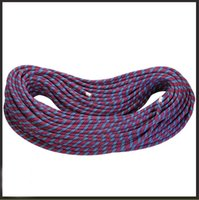 Wholesale 10 mm KN Dynamic Climbing Ropes Reliable Rappelling Climbing Camping Servival Cord Outdoor Safety Equipment Travel Adventure