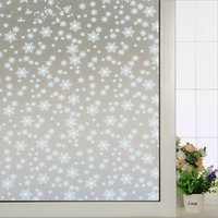 Wholesale 45 cm Wide and No glue Electrostatic insulated windows sunscreen bathroom toilet translucent frosted opaque film