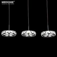 Wholesale 2016 New Arrival LED chandelier Crystal LED suspension light fixture lamp lustre Modern LED Crystal drop lamp price for bulb