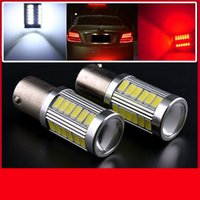 Wholesale 10 V SMD LED White Motorcycle Head Driving Daylight Car Fog Lamp brake light auto backup light parking lamp