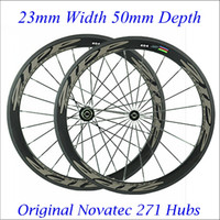 Wholesale ZIPP Carbon Wheels Road Bike mm C Wheelset Clincher Tubular Available K Weave Glossy Matte Finish With Novatec Hubs