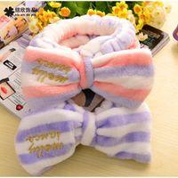 asian homes - elasticity bandeau Headwrap girls headband wash hair band at home fashion hair accessory hot sale