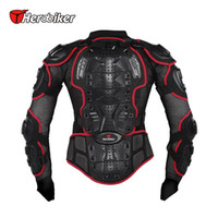 Wholesale HEROBIKER Professional Motocross Off Road Protector Motorcycle Full Body Armor Jacket Protective Gear Clothing S M L XL XXL XXXL