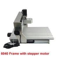 aluminium engraving machine - Freeshipping CNC engraving machine frame with ball screw cnc aluminium frame with stepper motor