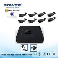 Wholesale HDMI P G wireless security camera system kits CCTV CH AHD H DVR System Outdoor TVL Bullet Cameras HD CCTV DVR KIT