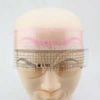 Wholesale Permanent make up Eyebrow ruler tool to measure perfect brow