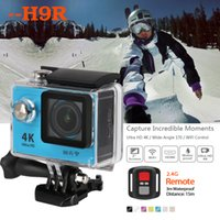 Wholesale SJ9000 H9R Ultra K Action Camera Wifi G Remote inch Screen degree wide Angle M waterproof Sport DV P FPS
