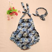 baby bellyband - New Child Toddlers Infant Baby Floral One piece Rompers Kids Hater Ruffles Rompers Children Cotton Jumpsuits Bellyband Overalls Bod